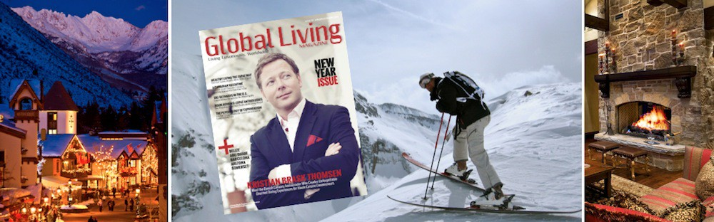 Global Living Magazine _ Damon M. Banks _ Ski Vacations